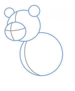 pandabär zeichnen