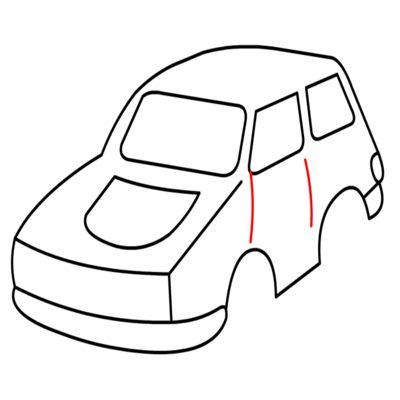 Auto zeichnen lernen schritt für schritt tutorial - Zeichnen leicht ...