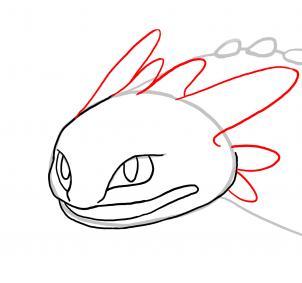 Drache Ohnezahn 2 Zeichnen Lernen Schritt F 252 R Schritt Tutorial Zeichnen Leicht Gemacht