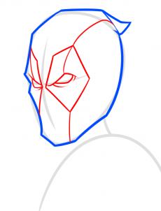 Deadpool 2 zeichnen lernen schritt für schritt tutorial