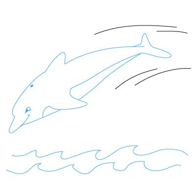 delfin zeichnen lernen schritt f252r schritt tutorial