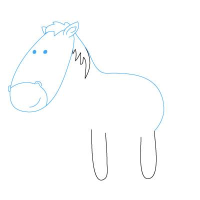 Pferd Zeichnen Lernen Schritt Fur Schritt Tutorial Zeichnen Leicht