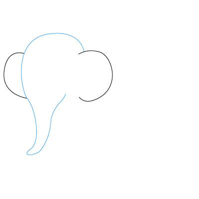 Elefanten Zeichnen Lernen Schritt Fur Schritt Tutorial Zeichnen
