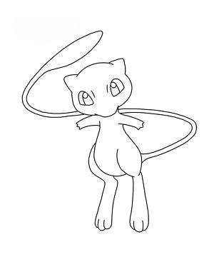 Pokemon Mew Zeichnen Lernen Schritt Für Schritt Tutorial