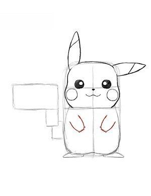 pokemon pikachu zeichnen lernen schritt f r schritt tutorial zeichnen leicht gemacht. Black Bedroom Furniture Sets. Home Design Ideas
