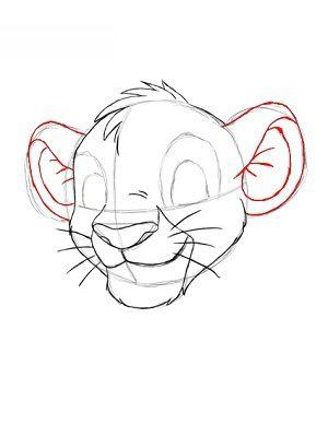 König Der Löwen Simba Zeichnen Lernen Schritt Für Schritt