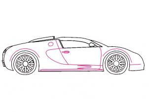 Bugatti Veyron Zeichnen Lernen Schritt Fur Schritt Tutorial