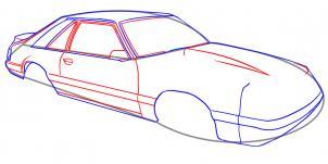 Auto Zeichnen Lernen Schritt Für Schritt Tutorial Zeichnen Leicht