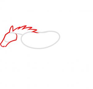 Cadillac Ats Coupe >> Mustang-Logo zeichnen lernen schritt für schritt tutorial - Zeichnen leicht gemacht