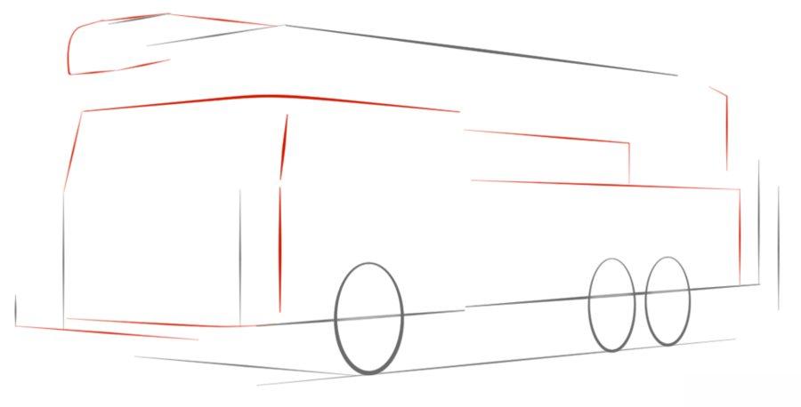 feuerwehrwagen zeichnen lernen schritt f u00fcr schritt tutorial