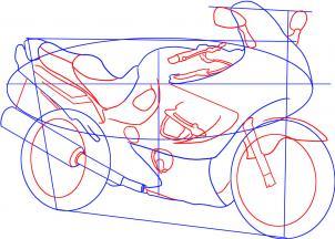 Motorrad Suzuki Katana Zeichnen Lernen Schritt F 252 R Schritt