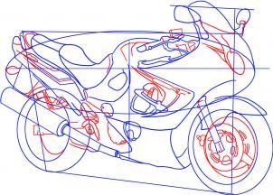 motorrad suzuki katana zeichnen lernen schritt fuer schritt tutorial zeichnen leicht gemacht