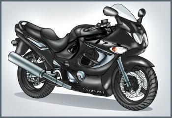 2017 Buick Grand National >> Motorrad-Suzuki-Katana zeichnen lernen schritt für schritt ...