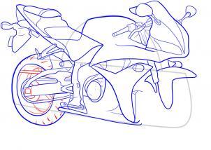 2017 Cadillac Ats Coupe >> Motorrad-Suzuki-Katana zeichnen lernen schritt für schritt ...