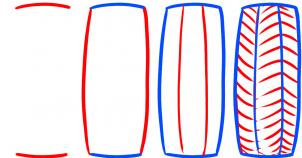 Reifen zeichnen lernen schritt für schritt tutorial ...