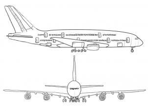 Flugzeug Zeichnen Lernen Schritt F 252 R Schritt Tutorial