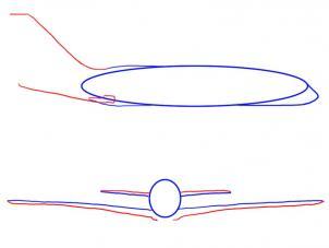 jagdflugzeug einfach zeichnen, flugzeug zeichnen lernen schritt für schritt tutorial - zeichnen, Design ideen