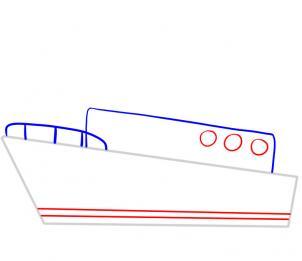 Schiff einfach zeichnen lernen schritt für schritt ...