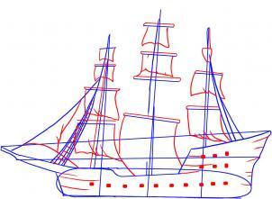 2017 Buick Grand National >> Piratenschiff zeichnen lernen schritt für schritt tutorial - Zeichnen leicht gemacht