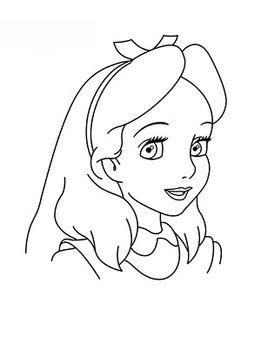 Alice im Wunderland zeichnen lernen