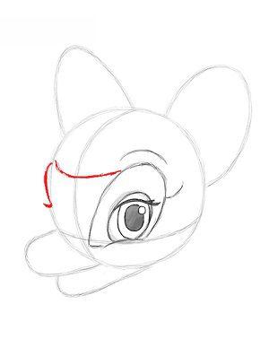 Bambi Zeichnen Lernen Schritt Fur Schritt Tutorial Zeichnen