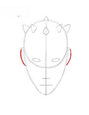 star wars- darth maul zeichnen lernen schritt für schritt tutorial - zeichnen leicht gemacht