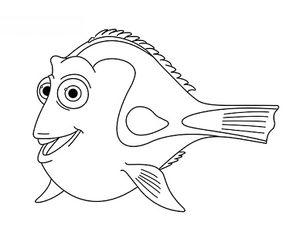 Dory Findet Nemo Zeichnen Lernen Schritt F 252 R Schritt