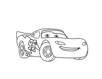 Disney Pixar Cars Embroidery Designs
