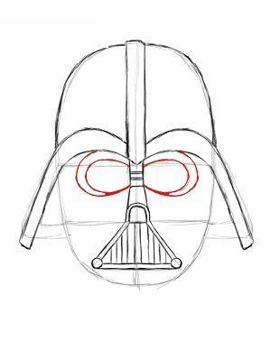 Star Wars Darth Vader Zeichnen Lernen Schritt F 252 R