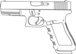 Pistole Zeichnen Lernen Schritt Fu00fcr Schritt Tutorial - Zeichnen Leicht Gemacht