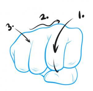 Faust Zeichnen Lernen Schritt Für Schritt Tutorial Zeichnen Leicht