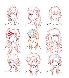Haare Hochgesteckte Haare Zeichnen Lernen Schritt Für