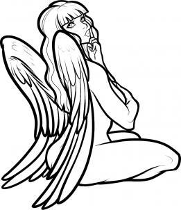 Engel-Mädchen zeichnen lernen schritt für schritt tutorial ...