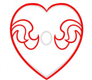 Herz Mit Rose Zeichnen Lernen Schritt Für Schritt Tutorial